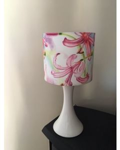 Pink Lillies  Lampshade