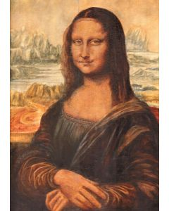 Mona Lisa Old Masters Copy